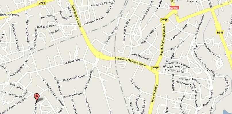 map du dojo